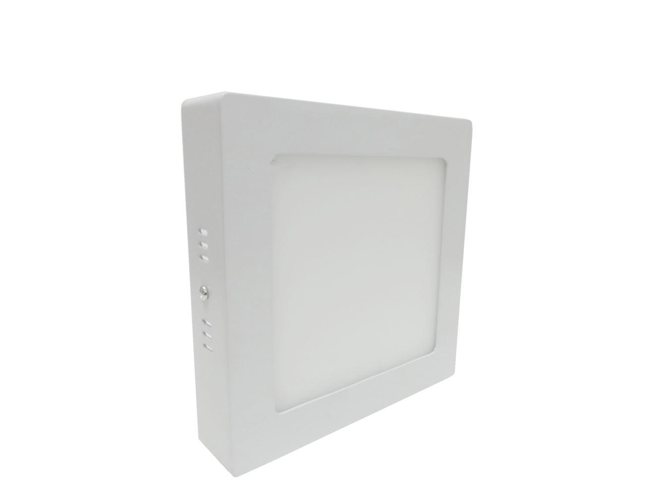 Plafoniera Quadrata Led Soffitto : Pl w)plafoniera led quadrata w da soffitto parete con